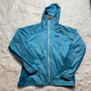 Patagonia Womens Waterproof Hooded Rain Jacket